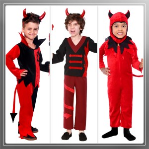 For boys, carnival costumes