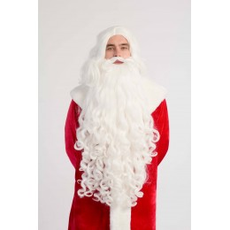 Santa Claus's Wig and Beard