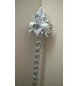 STAFF OF SANTA CLAUS SILVER 4 PARTS