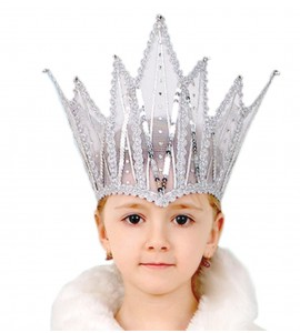 Snow Queen's Crown and Cape